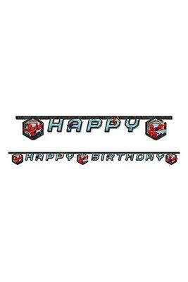 Spiderman Happy Birthday slinger