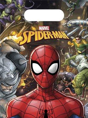 Spiderman uitdeel zakjes