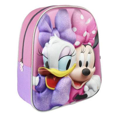 Minnie mouse en katrien rugtas