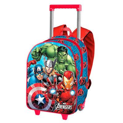 Avengers rugzak trolley