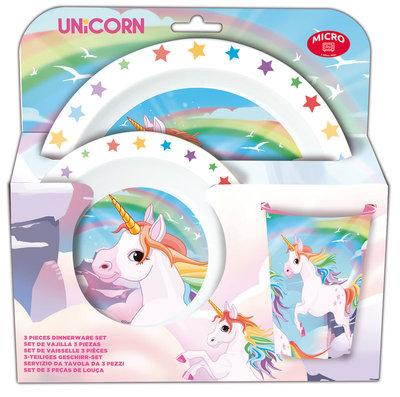 Unicorn ontbijtset
