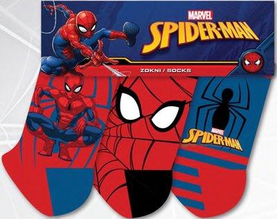 Spiderman 3 pack sokken