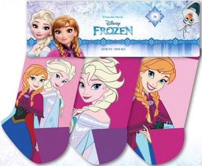Disney Frozen 3 pack sokken