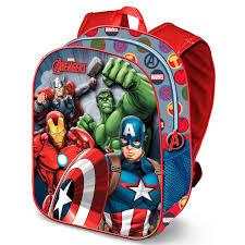 Avengers 3D rugtas